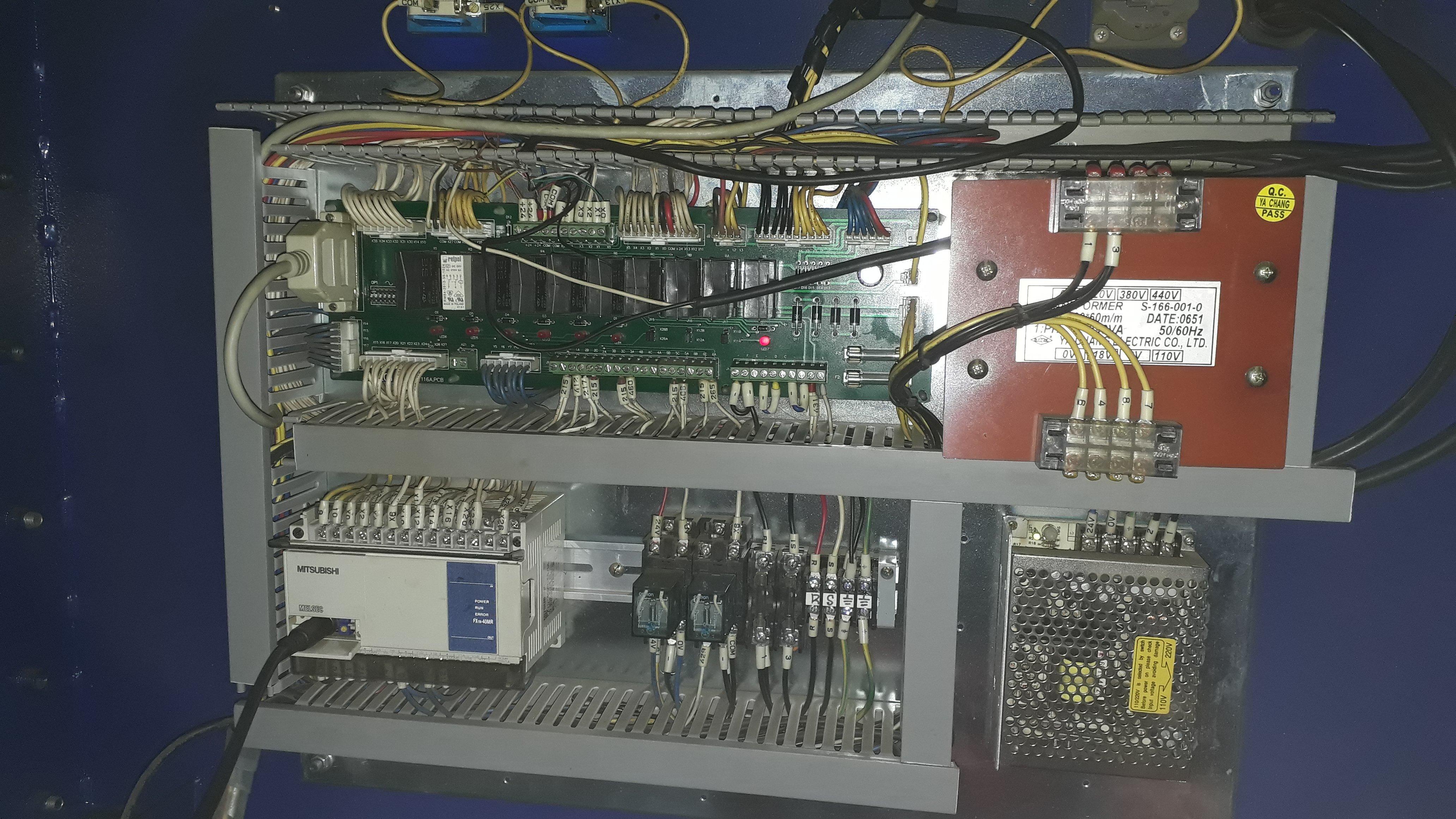 Barfeeder V66 для токарного станка с Fanuc.