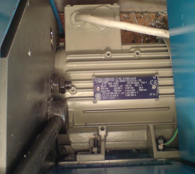 Установлен двигатель Сименс