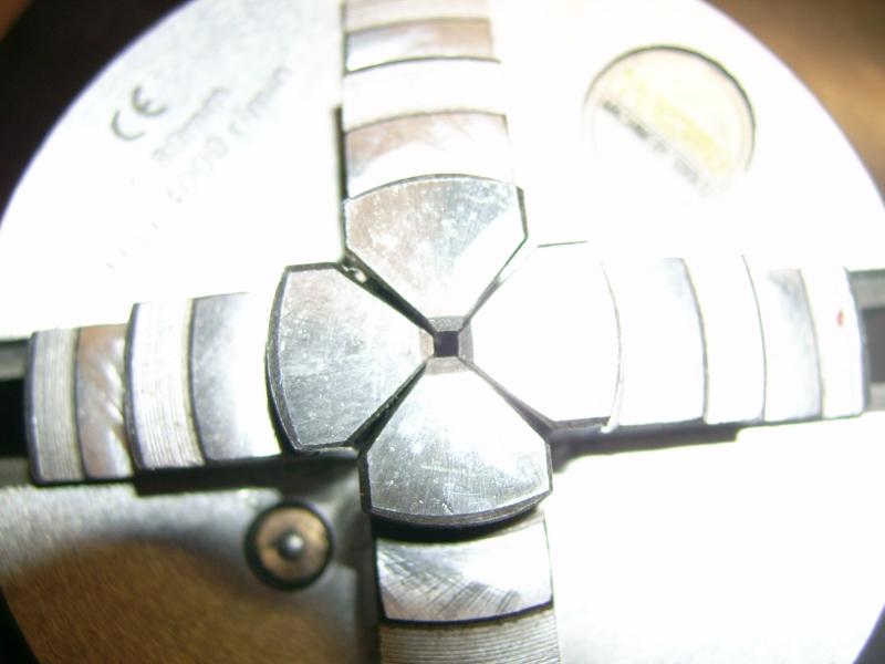четырёх кулачковый китайский патрон на 80 мм