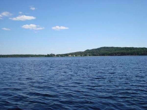 Озеро Шотозеро,дер.Салменица