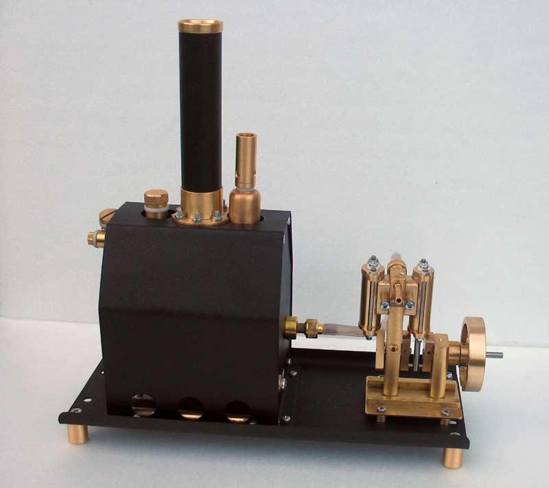 Двухциллиндровая машина