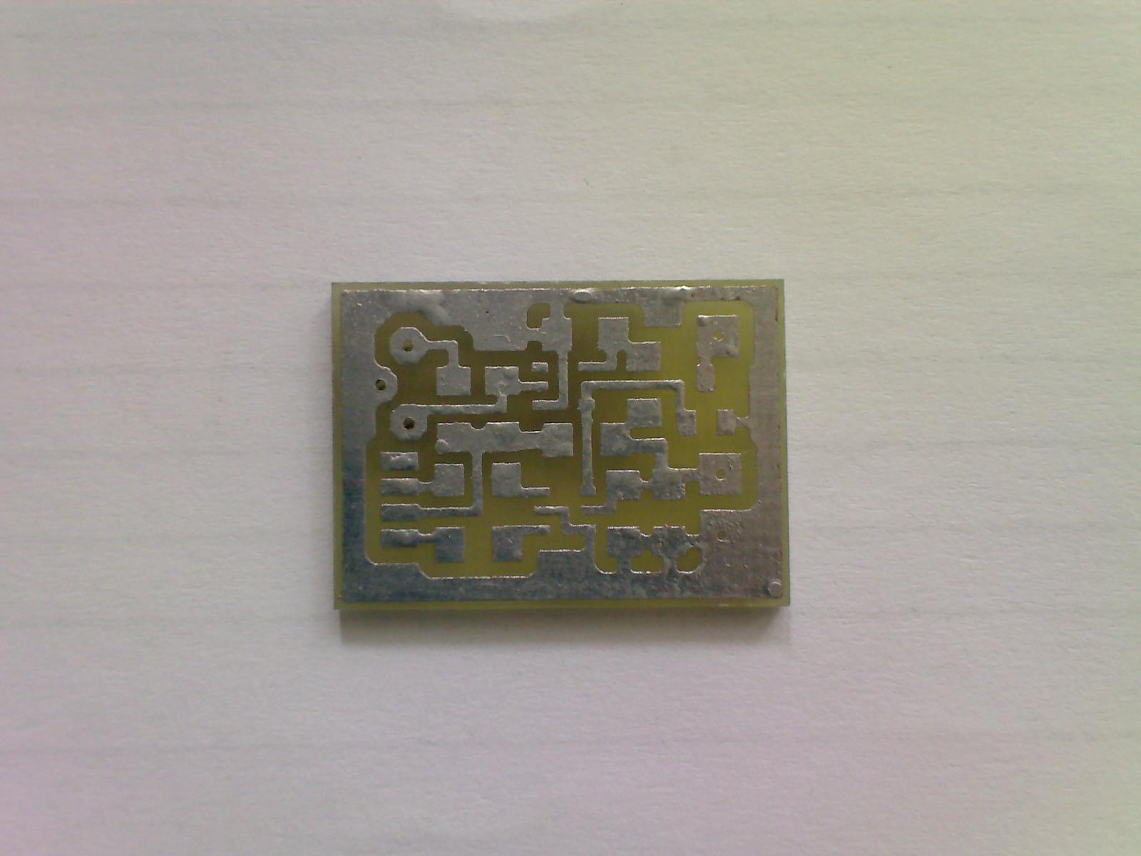Печатная плата оптического датчика