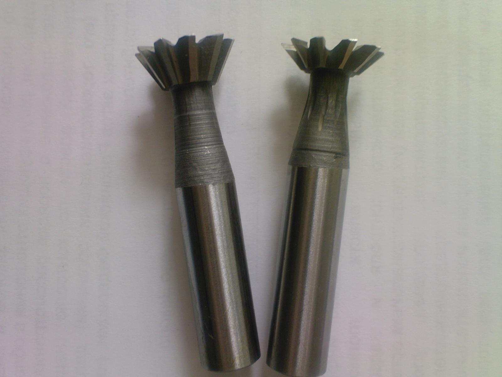 Фрезы для обработки пазов типа ласточкин хвост