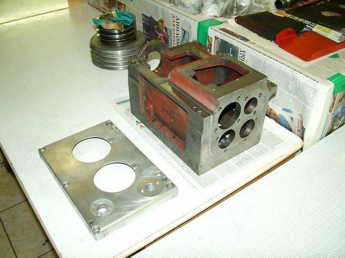 1П611 разборка коробки подач