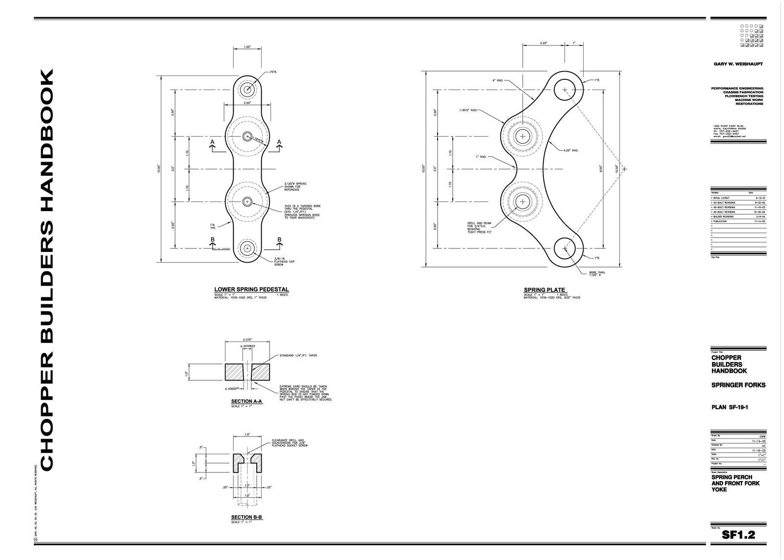 Springer Fork Plans 2of9