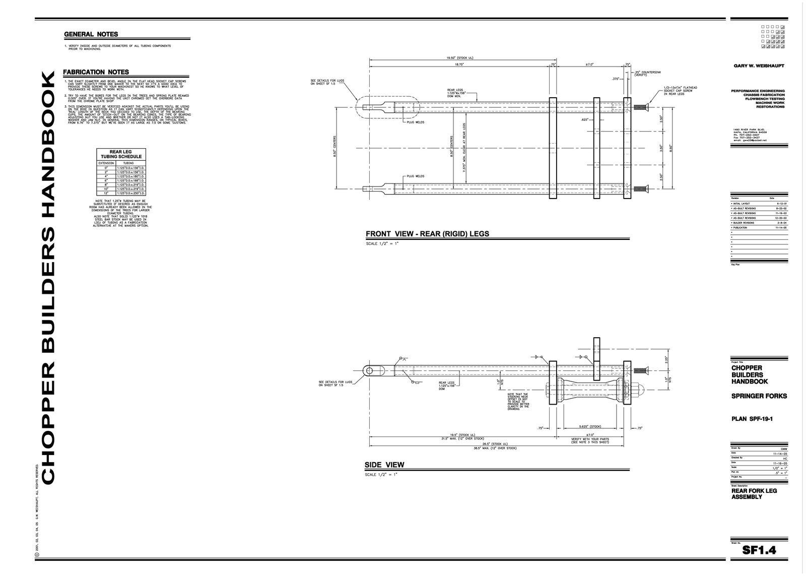 Springer Fork Plans 4of9