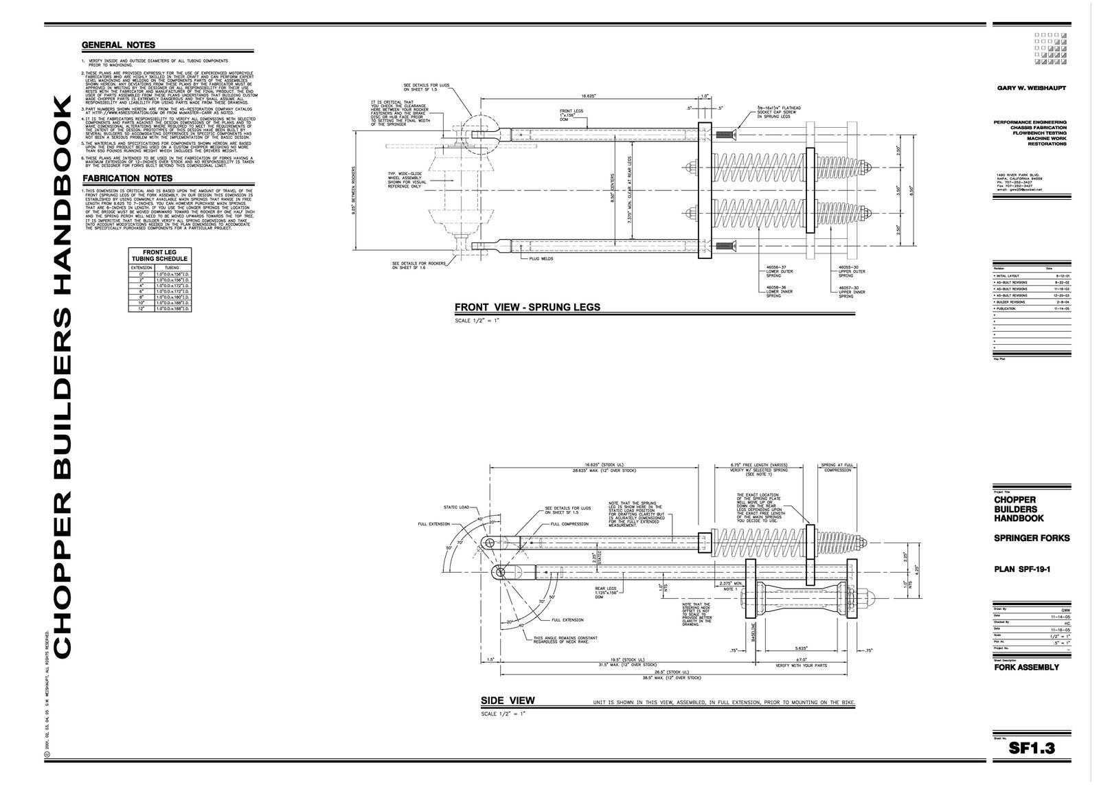 Springer Fork Plans 3of9