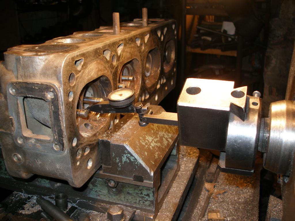 Обработка седла клапана