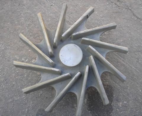 5.Отливка рабочего колеса насоса АХ 280