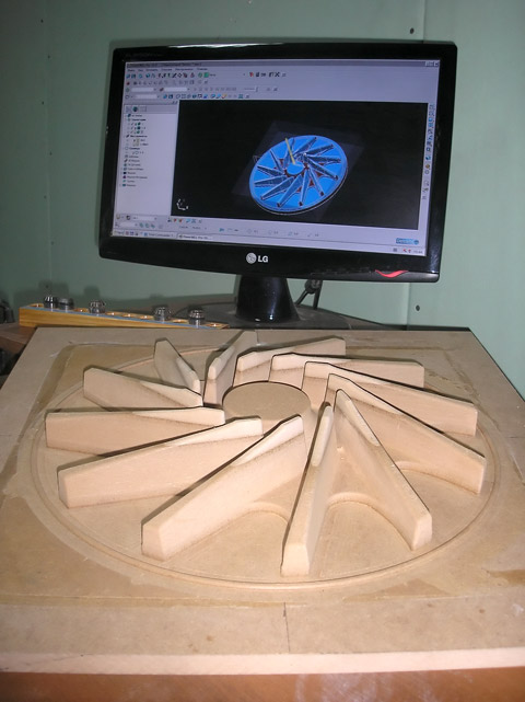 3.Изготовление модельного комплекта