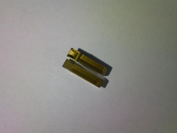 Сменные пластины для отрезных резцов, тип GTN