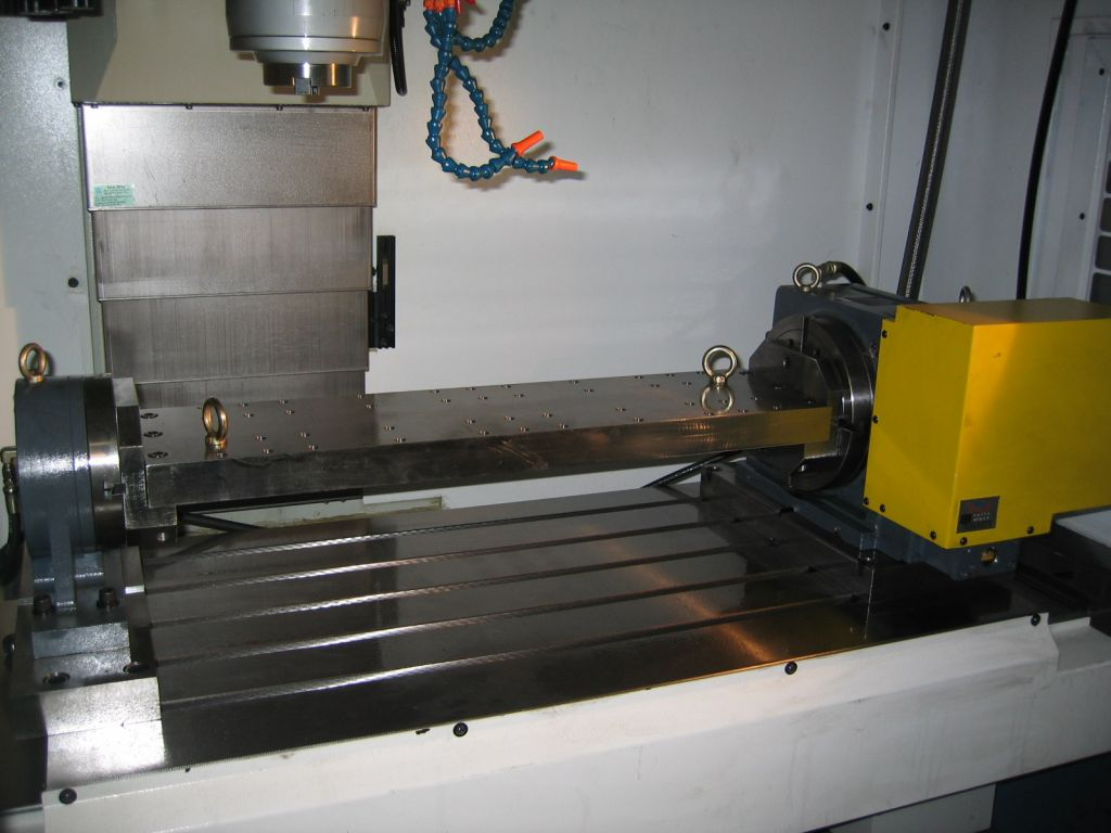 4th axis with cable