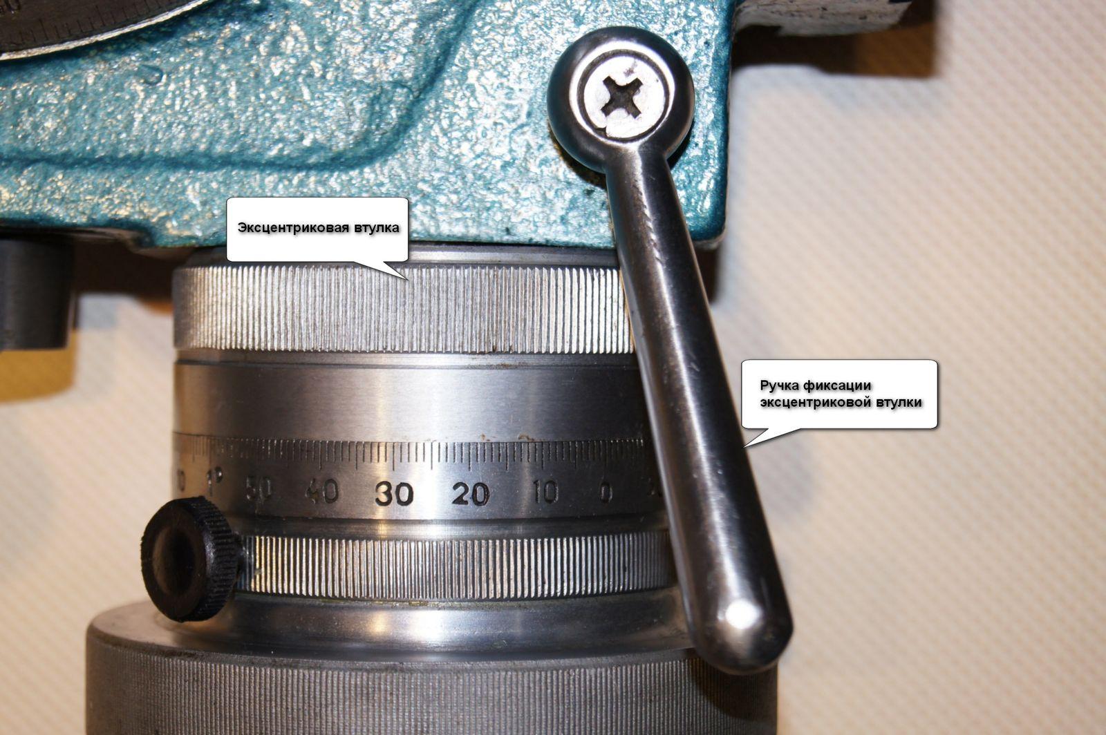 Шайба с накаткой для поворота эксцентриковой втулки