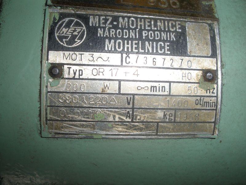 Шильдик мотора