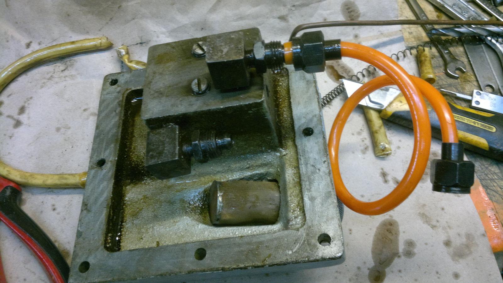 новый маслопровод