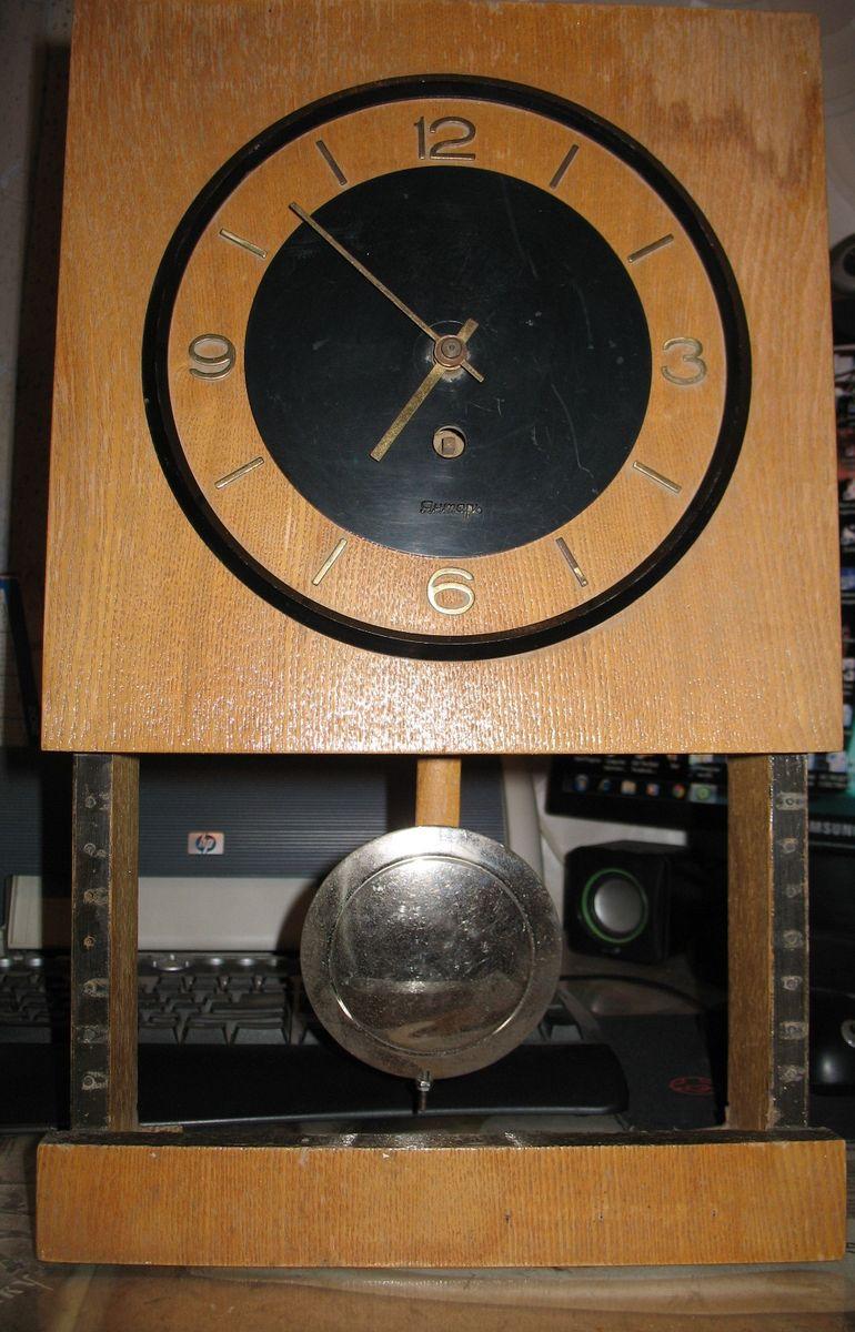 Часы янтарь без боя