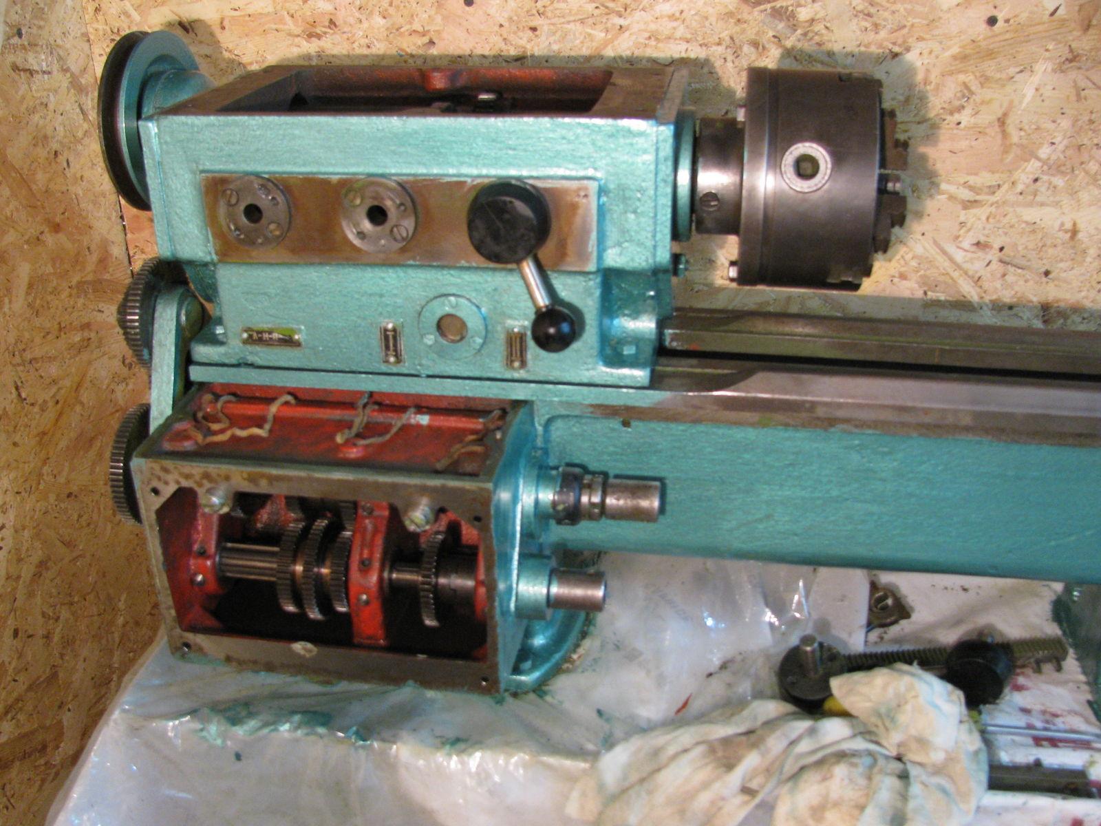 тв-4 передняя бабка и коробка подач