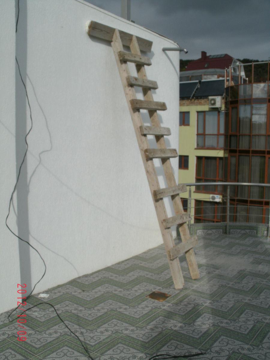 Место будущей лестницы