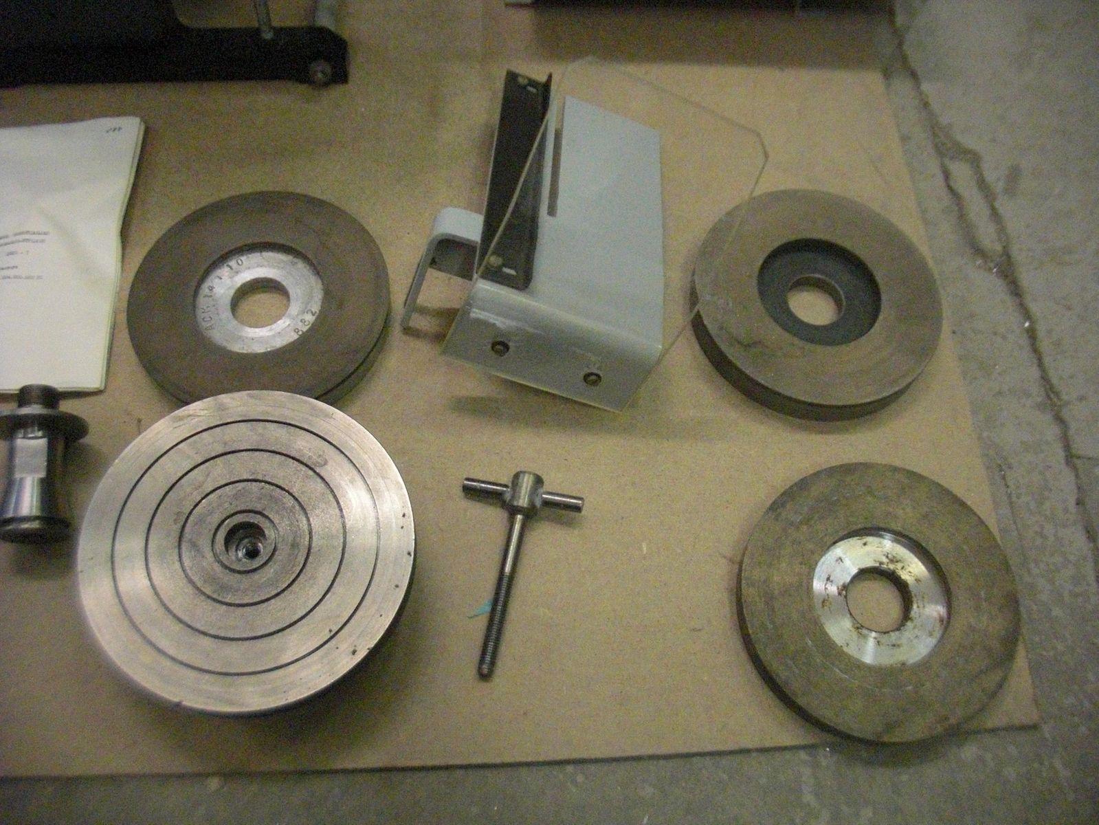 Станок ювелирный СУШО-1 оправки и диски полировальные и шлифовальные
