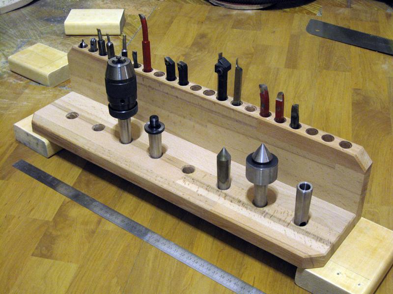 Полочка под мелкий токарный инструмент