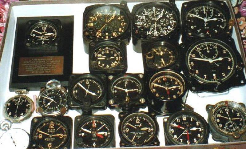 коллекция авиачасов