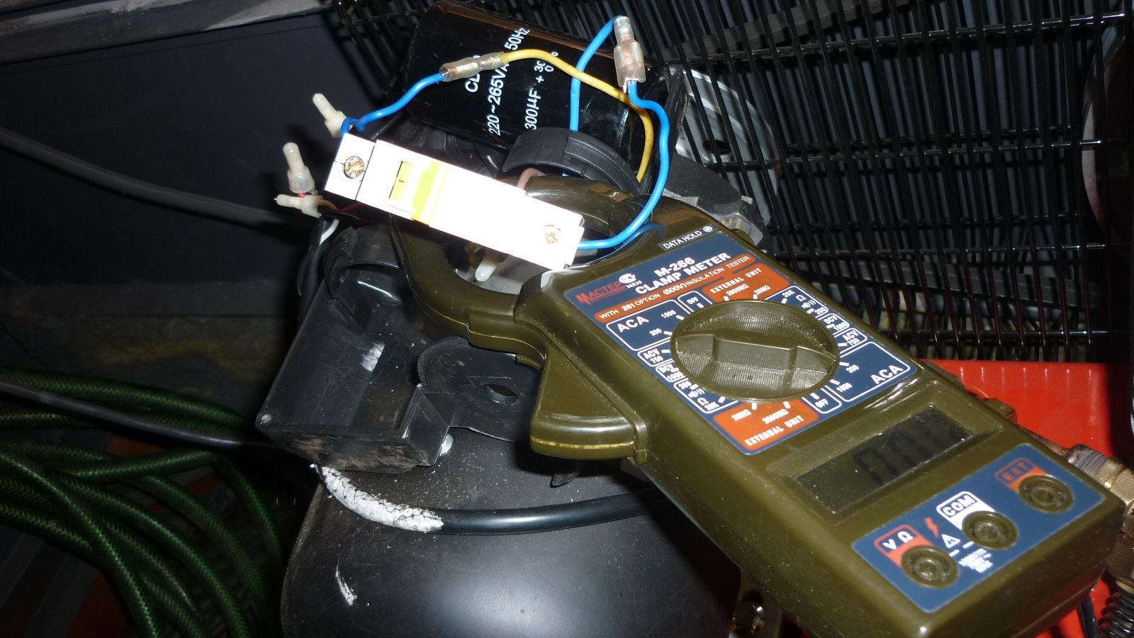 измеряем пусковой ток -- около 26 ампер -- уточнить ...