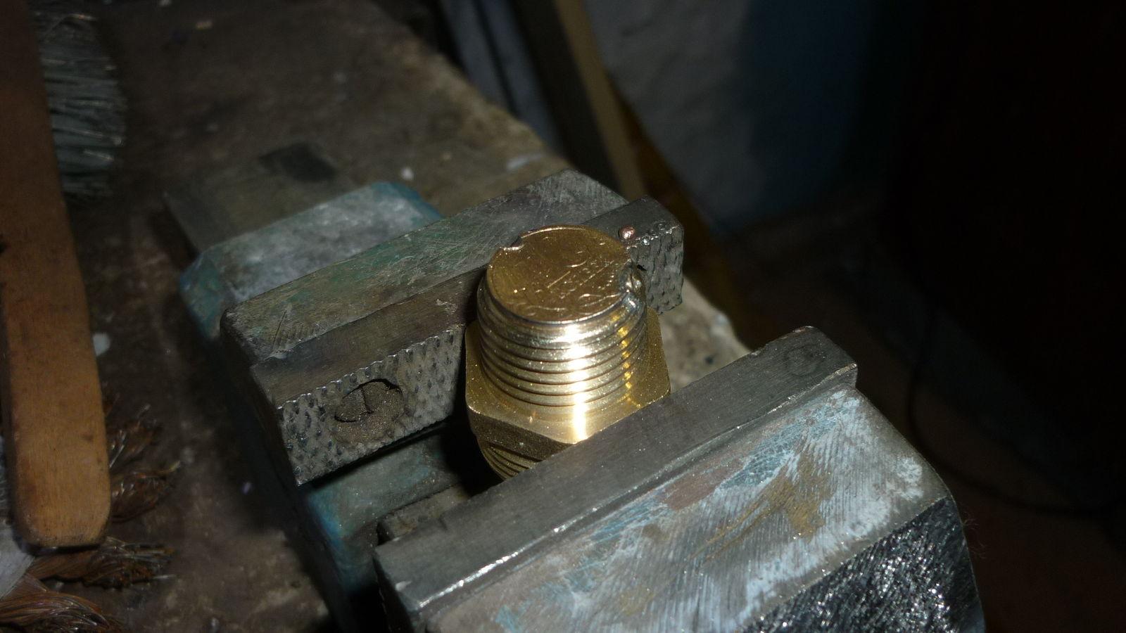 припайка монеты 1