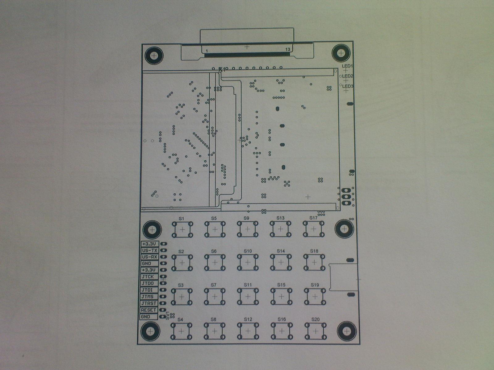 Печатная плата автономного контроллера