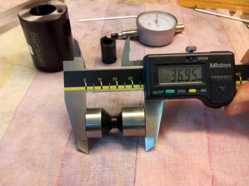 Прибор для выставления инструмента по высоте