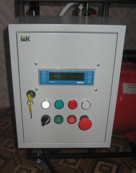 шкаф управления вакуумной станцией