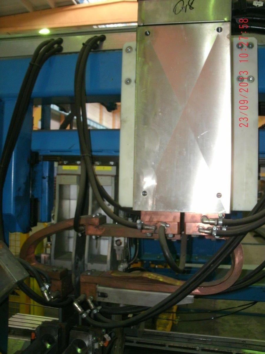 Силовые элементы трансорматорных машин контактной сварки