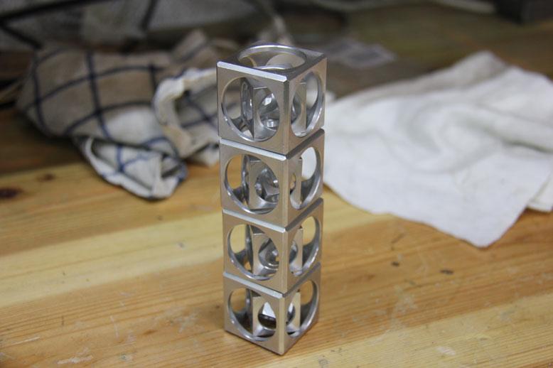 кубики в столбик