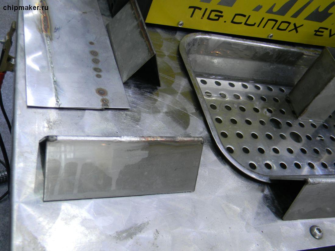 Weber, установка  Clinox для очистки и пассивации сварных швов после полуавтоматической сварки (электрохимическое травление и пассивация) -3