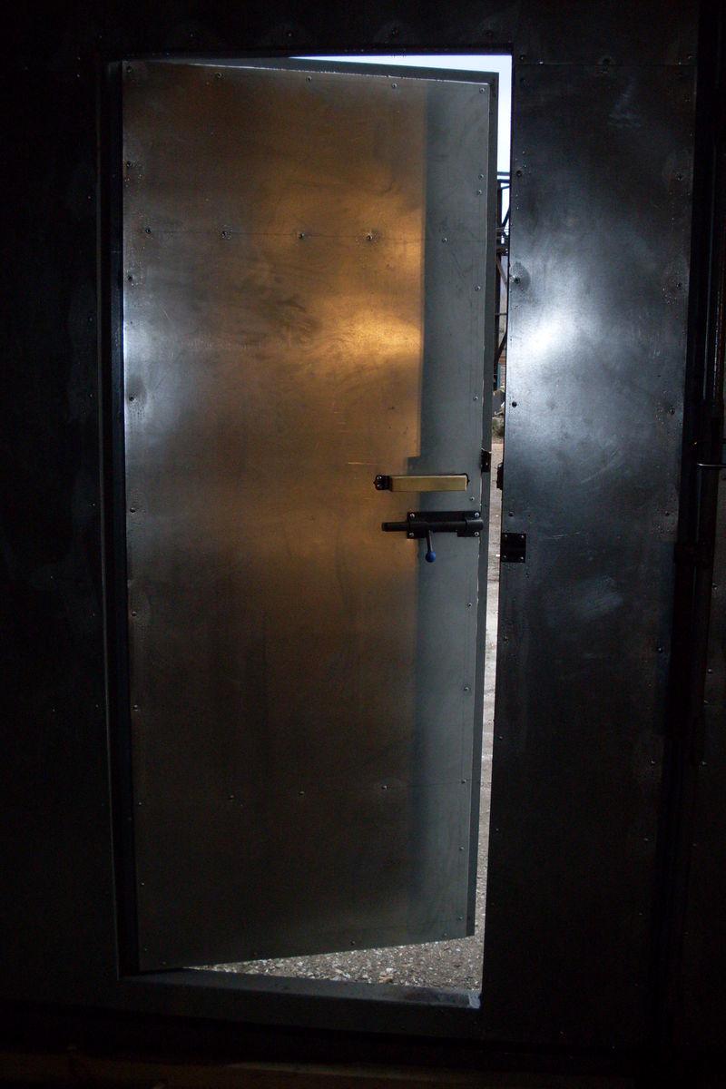 Ворота распашные 3500*4300 мм.