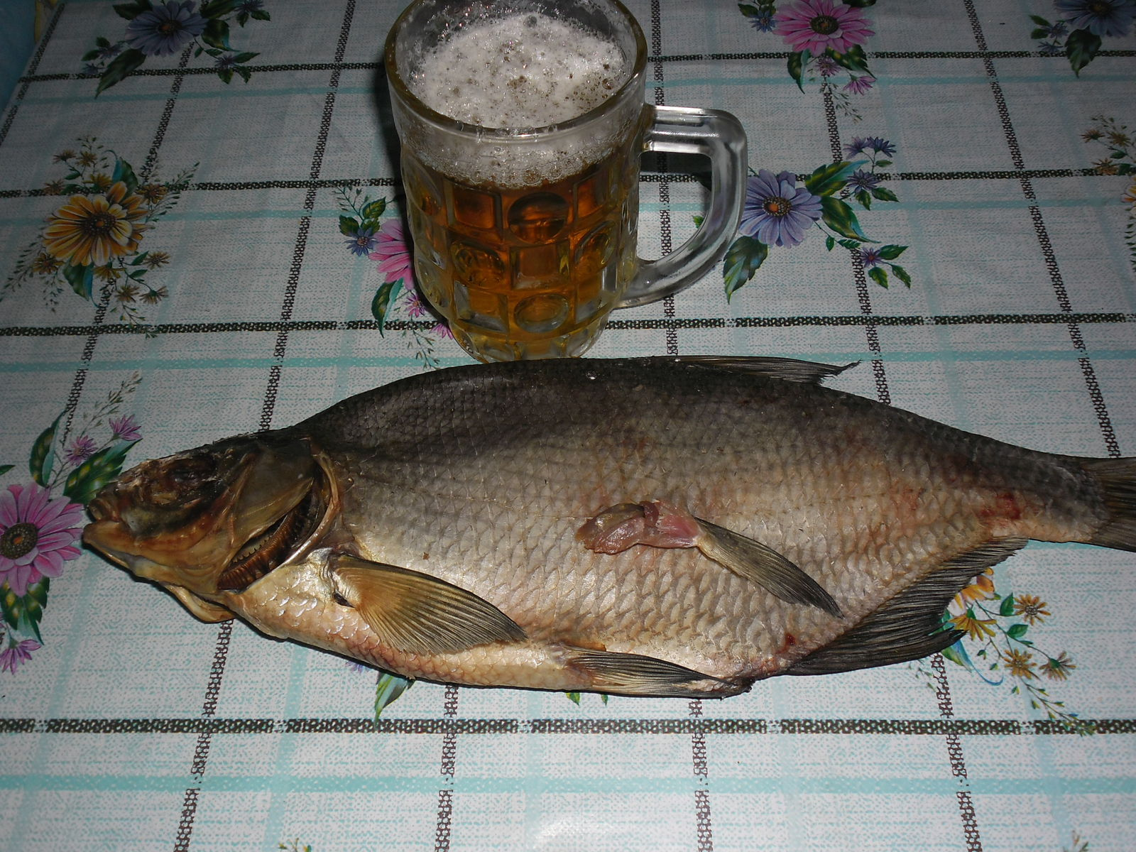 Пиво и рыбка