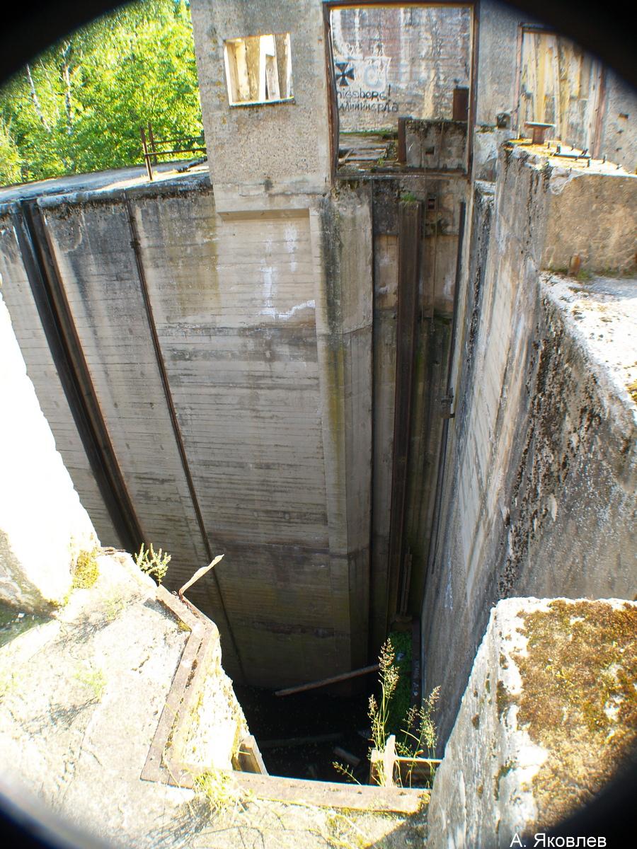 Памятник технического зодчества-шлюз Мазурского канала.