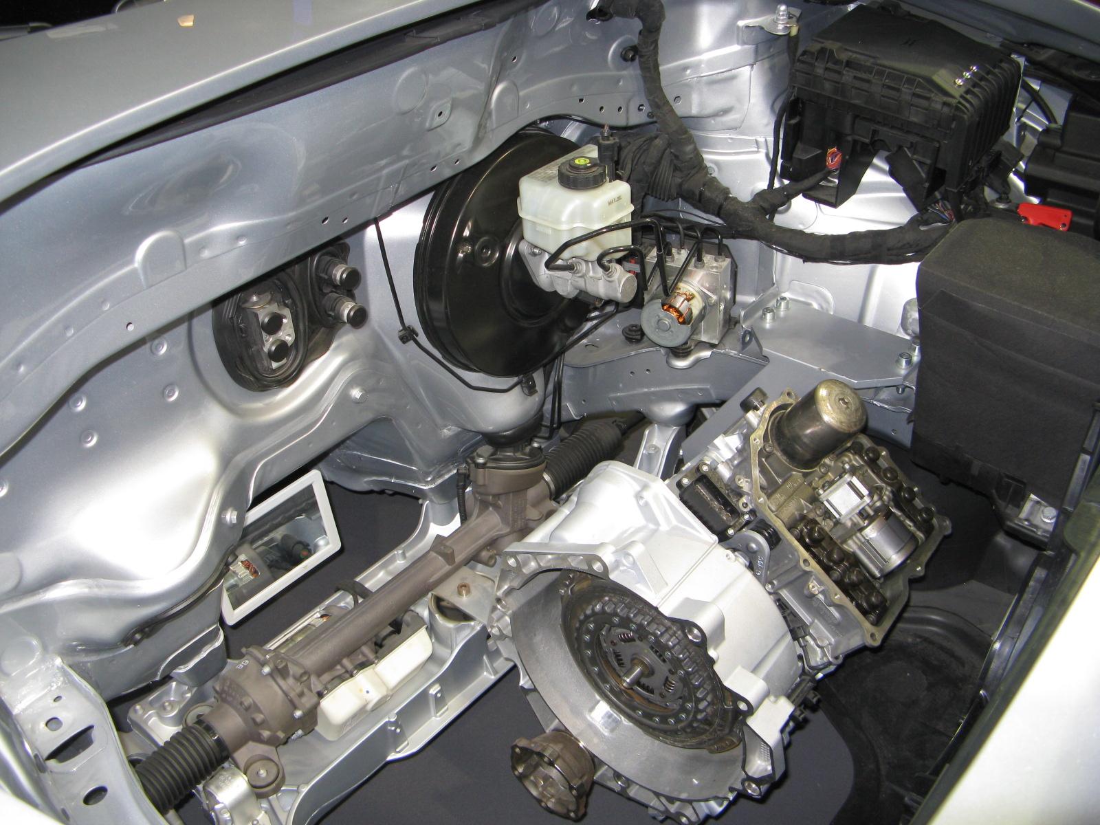 Электроприводы: рулевой. ABS, АКПП - Фольксвагена Тигуан