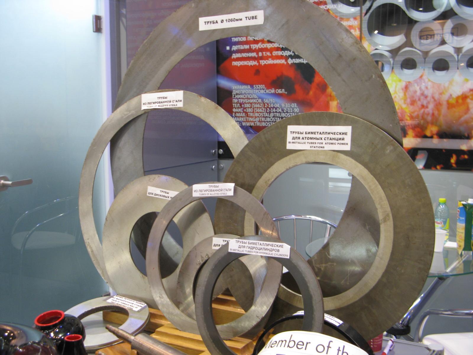 В том числе, биметаллические трубы больших диаметров