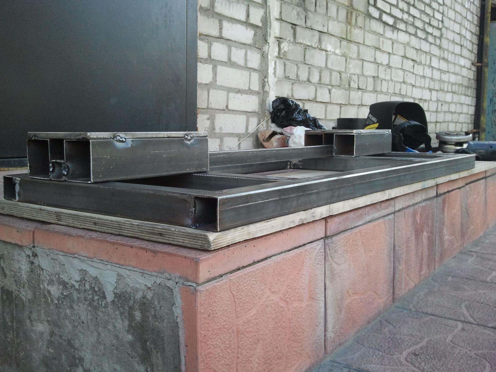 Верхняя часть тумбы под токарный - Обварил№2