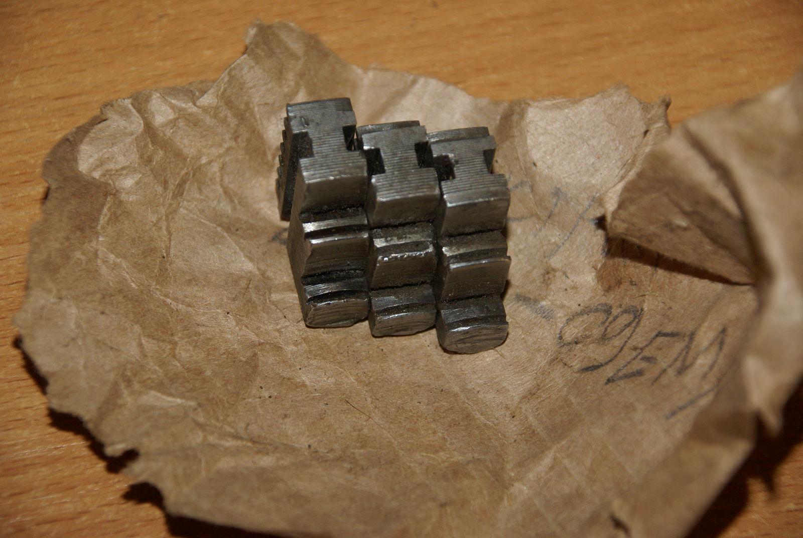 Кулачки прямые от 80го патрона обратная сторона