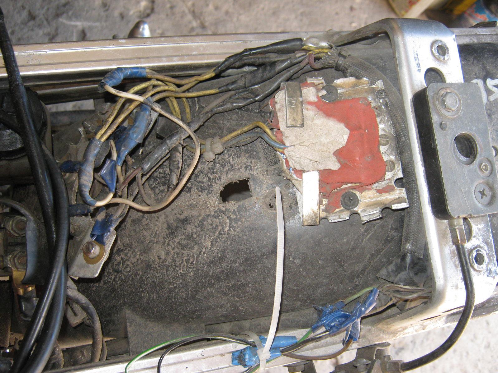 электропроводка suzuki gsxr 400