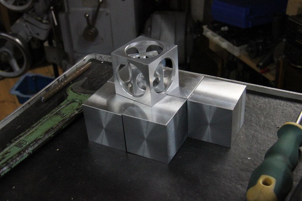 кубик в кубике и ещё в кубике