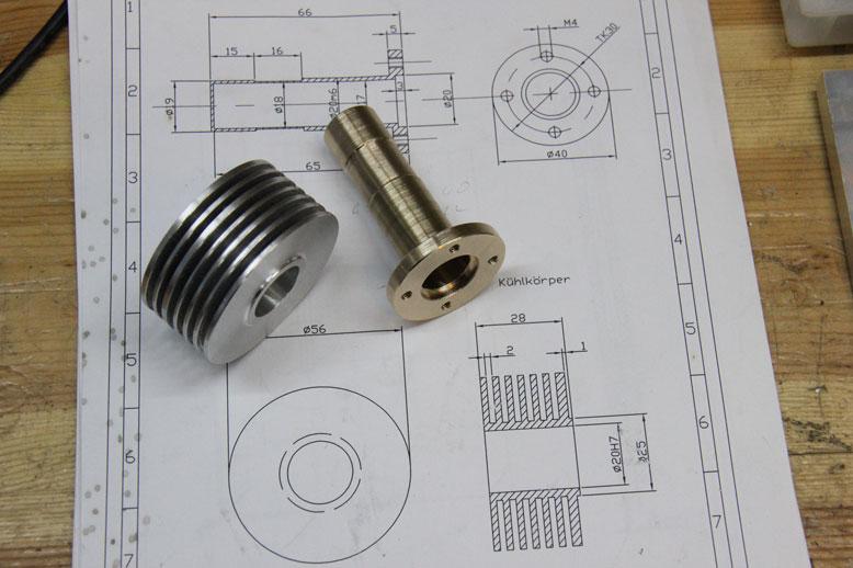 цилиндр, радиатор