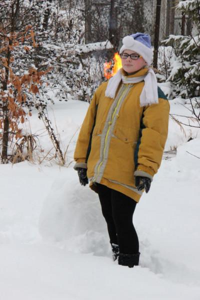 нижний ком снеговика
