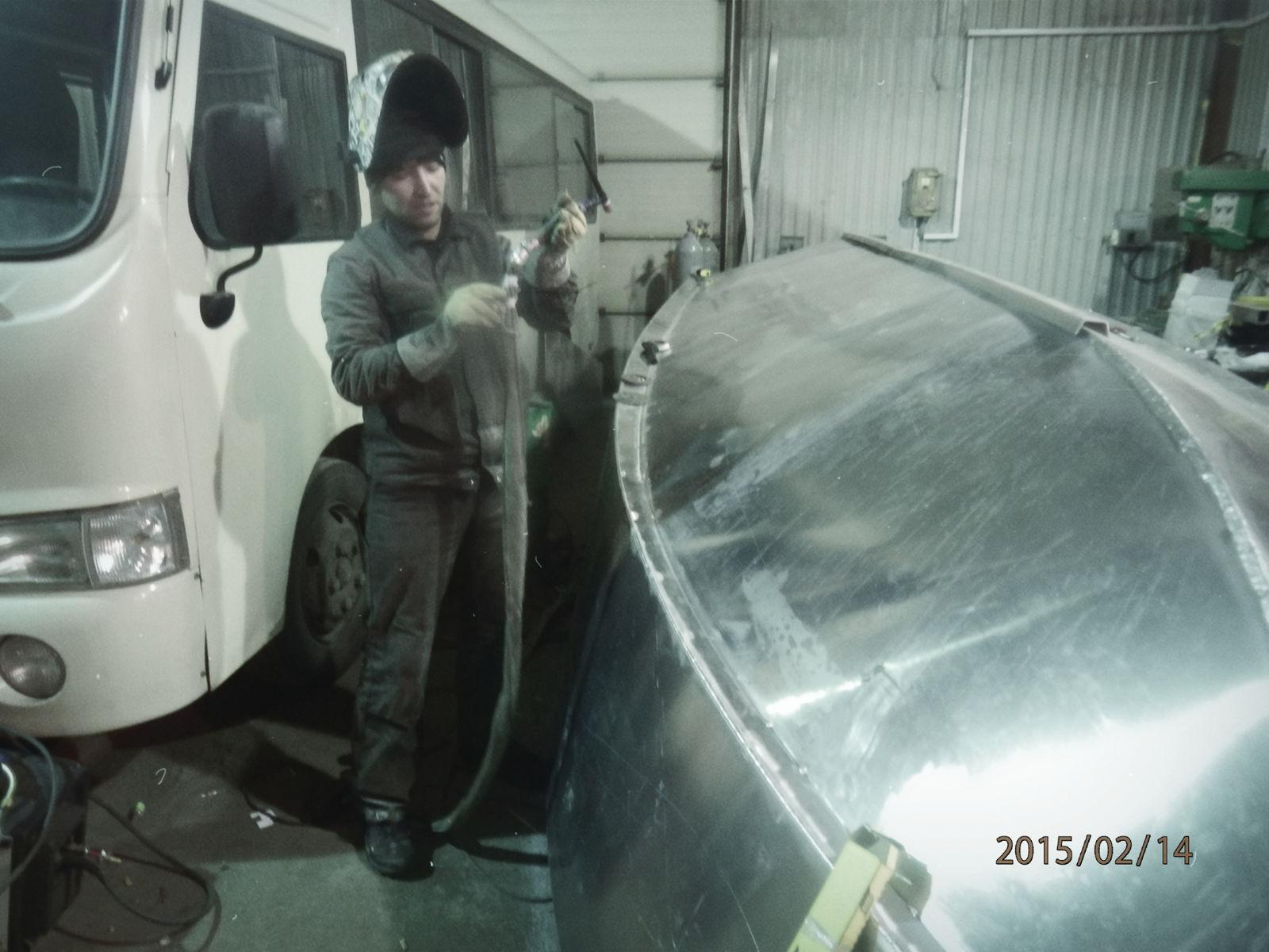 изготовление катера