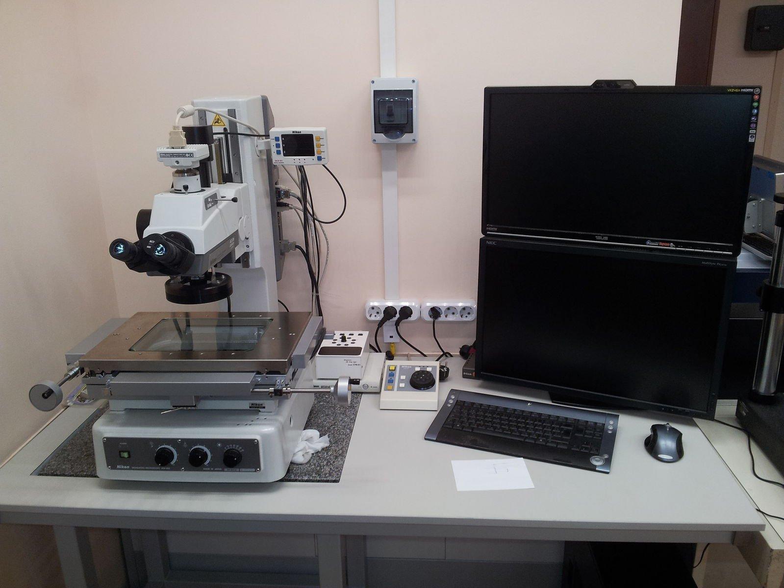 Микроскопчик Nikon