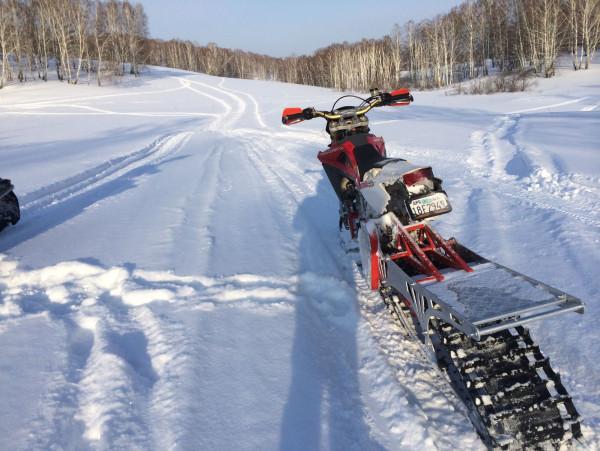 снегоходная дорога