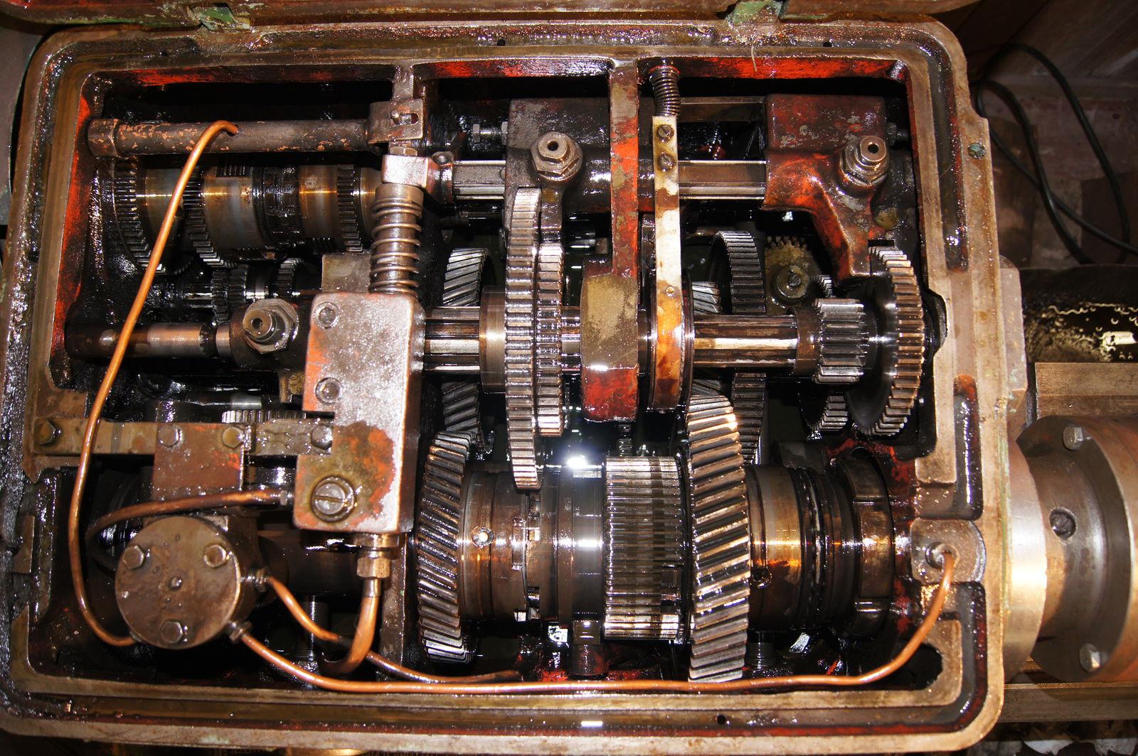 Передняя бабка 1А-62