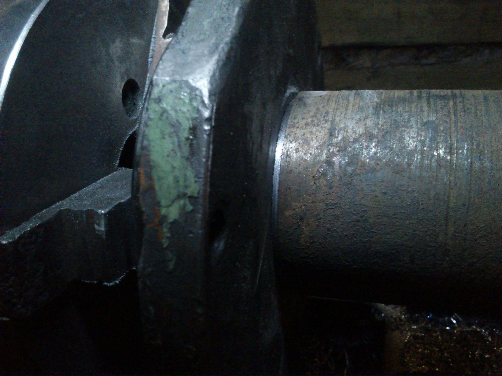 Небольшой ремонт токарного 1М63_3