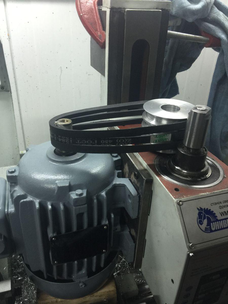 примерка с двигателем